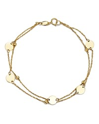 Moon And Meadow Layered Disc Bead Bracelet In 14K Yellow Gold 100 Exclusive