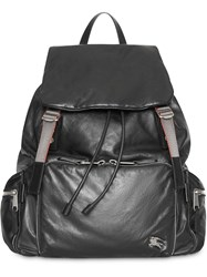 Burberry The Extra Large Rucksack In Nappa Leather Black