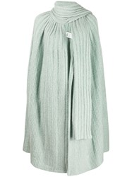Missoni Knitted Cardi Coat Blue