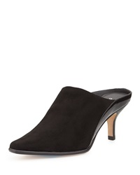 Donald J Pliner Luxe Stretch Mule Slide Black