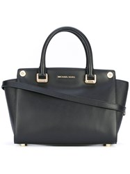 Michael Michael Kors 'Selma 3 In 1' Medium Satchel Women Leather One Size Black