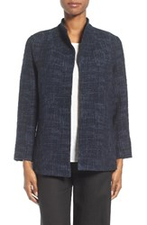 Eileen Fisher Women's Crosshatch Jacquard Jacket