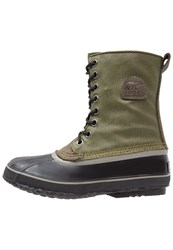 Sorel 1964 Premium Winter Boots Nori Black Oliv
