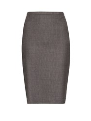 Max Mara Panteon Skirt Grey