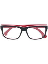 Carrera Square Glasses Black
