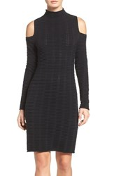 French Connection Women's Mozart Body Con Dress Black