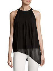 Saks Fifth Avenue Layered Tank Top Black