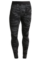 Gap Tights Black Camo