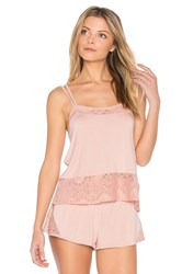 Skin Lace Cami Pink