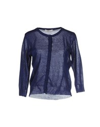 Suoli Knitwear Cardigans Women Dark Blue