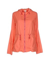 Gj Gaudi' Jeans Coats And Jackets Jackets Women Coral