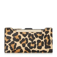 Dune Kiri Purse With Removable Card Holder Leopard Print
