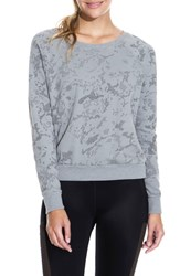 Maaji Sleek Camo Granite Sweatshirt Med Gray