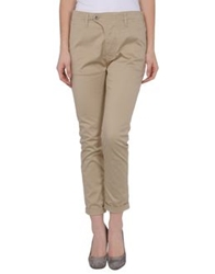 Cycle 3 4 Length Shorts Beige