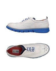 Yab Lace Up Shoes White