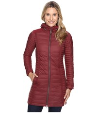 Kuhl Spyfire Parka Cranberry Women's Coat Red