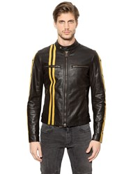 Belstaff Mashburn Leather Moto Jacket