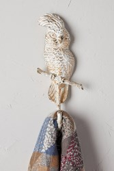 Anthropologie Cockatoo Hook White