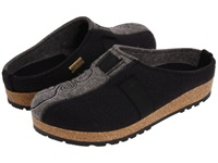 Haflinger Magic Black Women's Clog Shoes