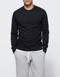 Reigning Champ Core Crewneck Black