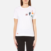 Paul Smith Ps By Women's Why Not Patches Top White