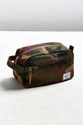 Herschel Supply Co. Chapter Travel Kit Green Multi