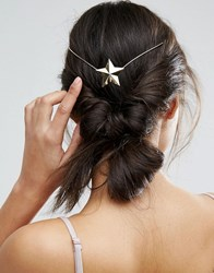 Asos Limited Edition Star Back Detail Hair Crown Gold