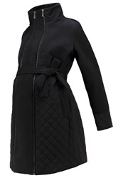 Mama Licious Mlgiggi Tikka Winter Coat Black