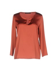 Messagerie Blouses Brick Red