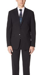 Theory Chambers Slim Fit Suit Jacket Black