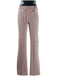 Missoni High Waisted Trousers Pink