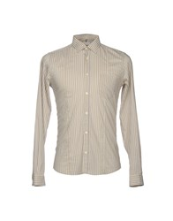 Gold Case By Rocco Fraioli Shirts Beige