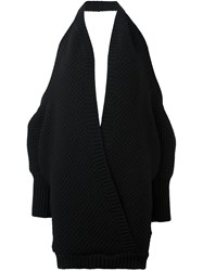Chalayan Cross Front Top Black