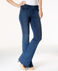 Style And Co. Pull On Flare Jeans Punk Wash Only At Macy's