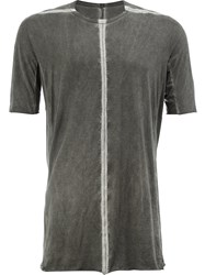 Isaac Sellam Experience Stitched T Shirt Grey