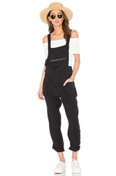 Free People First City One Piece Overall Black