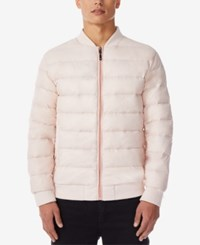 32 Degrees Men's Packable Bomber Jacket Blush
