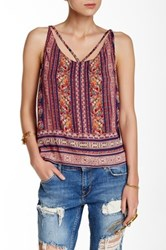 Angie T Back Printed Tank Multi