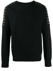 Fendi Bag Bugs Sweatshirt Black