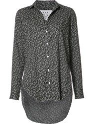 Frank And Eileen 'Grayson' Blouse Grey