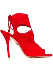 Aquazzura 'Sexy Thing' Sandals Red