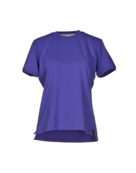 Kangra Cashmere T Shirts Purple