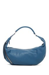 Christopher Kon Leather Hobo Blue