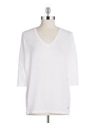 Bench Dolman Sleeve Pullover Top White