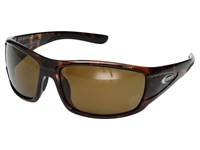 Suncloud Polarized Optics Tribute Tortoise Brown Polycarbonate Lens Sport Sunglasses