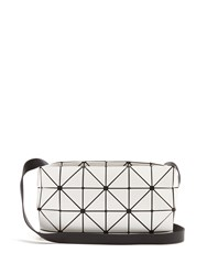 Issey Miyake Carton Gloss Cross Body Bag White