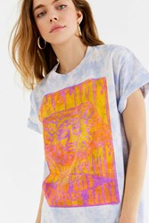 Urban Outfitters Sublime Tie Dye Tee Purple Multi