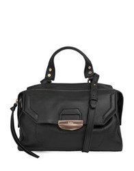 Kooba Glendale Leather Shoulder Bag Black