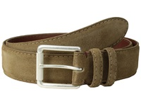 Torino Leather Co. 38Mm Italian Calf Suede Whiskey Men's Belts Brown