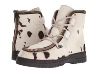Penelope Chilvers Incredible Boot Seal Leather Shearling Women's Boots Bone